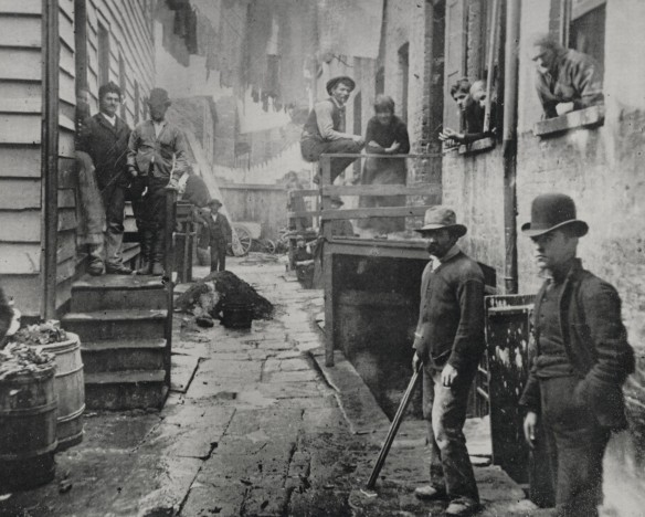 jacob riis, nyc, new city gangs, bandits roost, five points