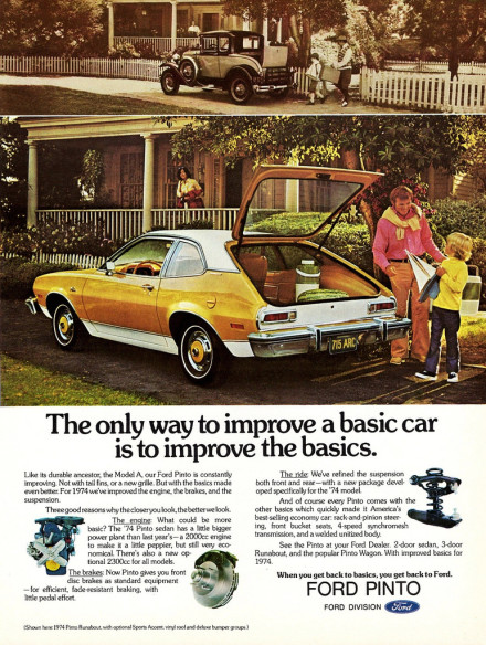 on the real, greg mchale, jesse shafer, jesse and greg, ford pinto, ad, preppy, advertisement,