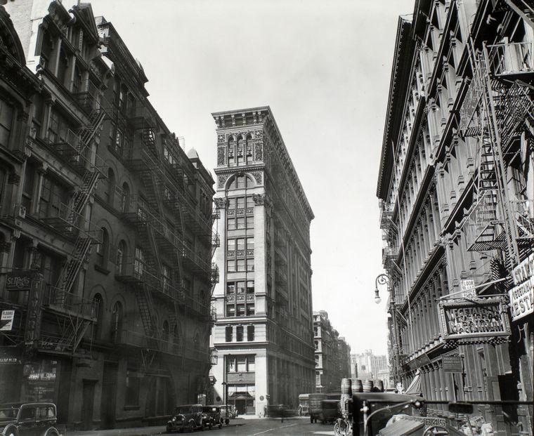 487 Broadway, 1899, vintage, soho