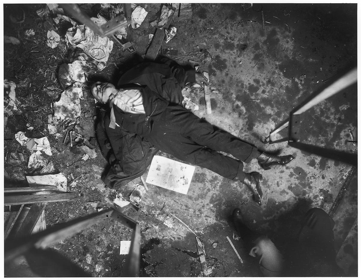 NYC Crime Scene, 1907