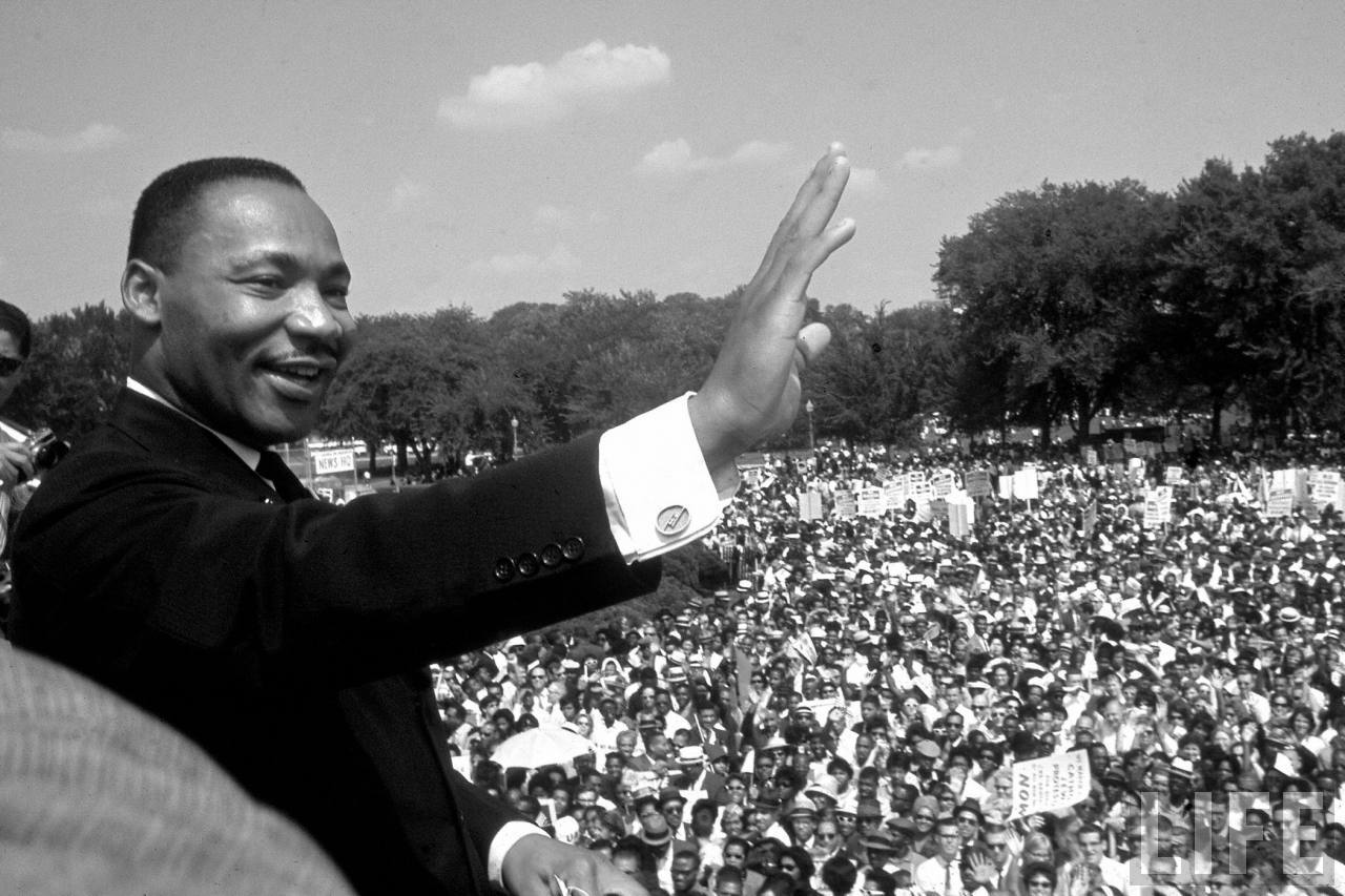 MLK Jr., I Have A Dream, 1963, MLK Day