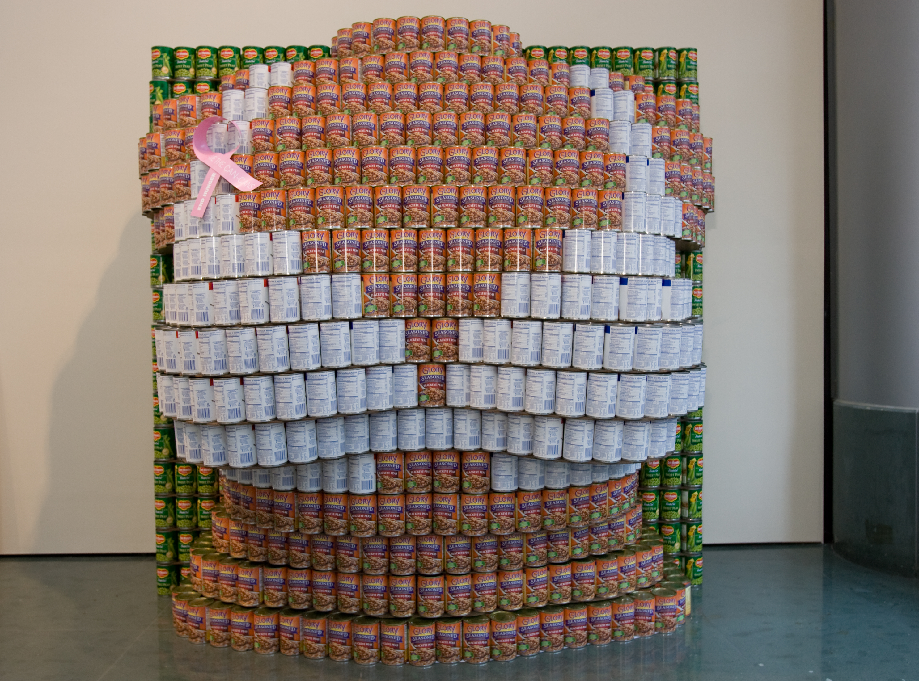 canstruction 2011, bust