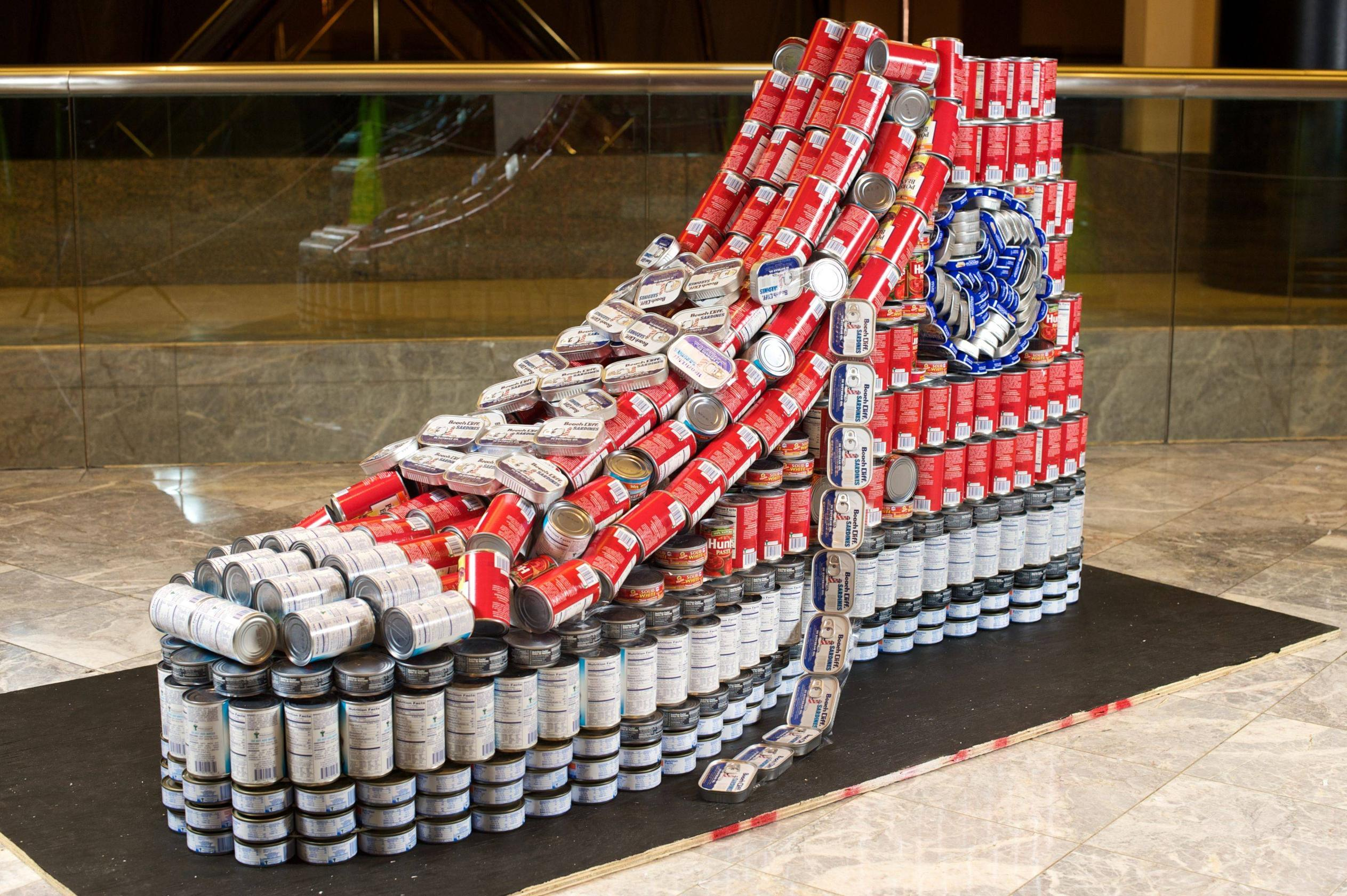 Converse archives on the real for Things made out of tin cans