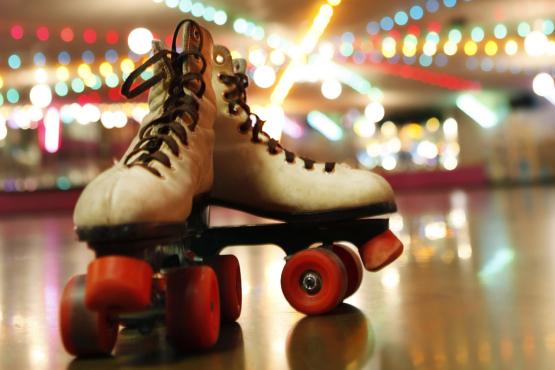 skates, roller rink, disco, roller skates, Brooklyn Lyceum