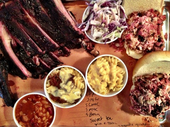 fletcher's brooklyn barbecue, fletcher's bbq, gowanus, 3rd avenue, barbecue, smoked meats, mac 'n cheese, bakes beans