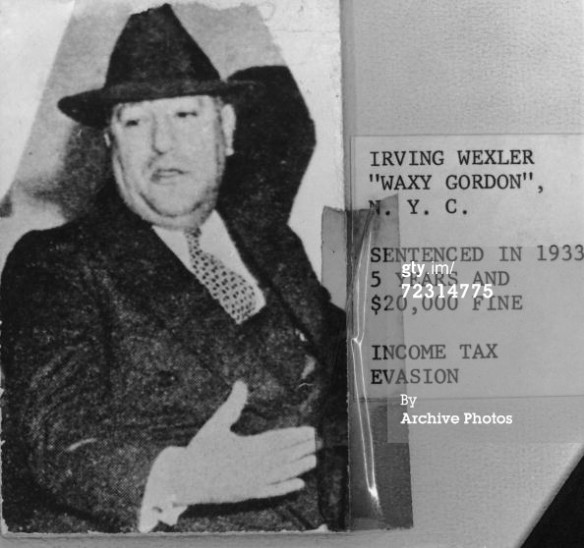 waxey gordon, new york city, gangster