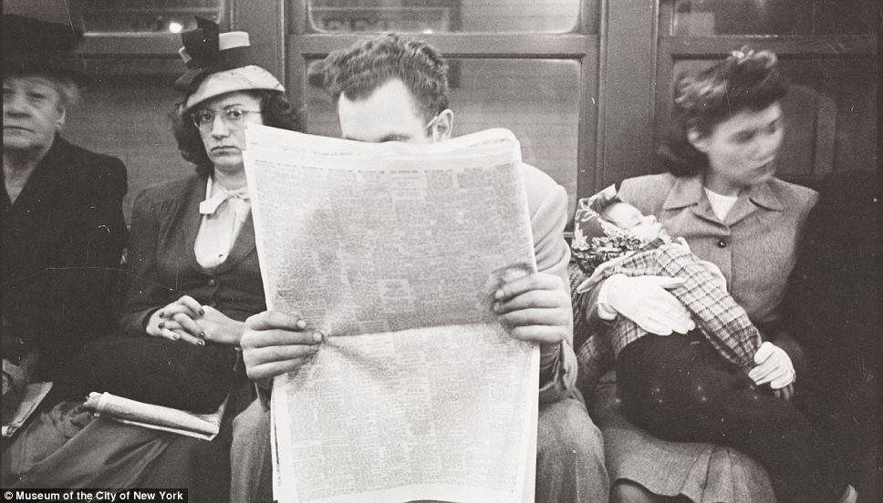 1940's Newspaper Junkie